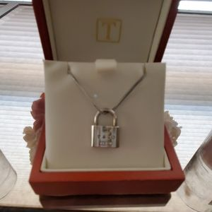 Tiffany lock necklace